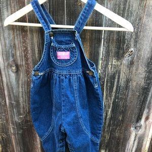 Vintage OshKosh B'Gosh Denim Overalls - 3T